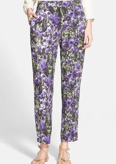 ESCADA Floral Print Ankle Pants