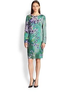 Escada Hyacinth Sheath Dress