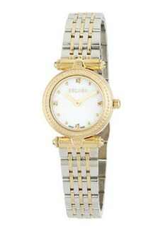 Escada Ion Gold-Plated Stainless Steel Mini Two-Hand Vanessa Watch w/ Diamonds