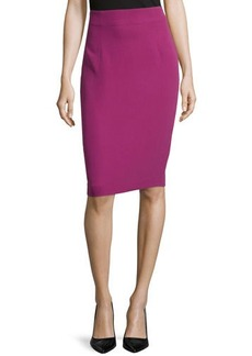 Escada Knee-Length Pencil Skirt, Anemone