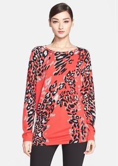 ESCADA Leopard Print Wool Blend Tunic