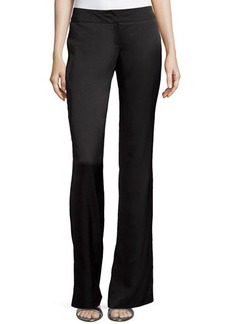 Escada Low-Rise Boot-Cut Pants