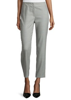 Escada Low-Rise Cropped Pants, Smaraged