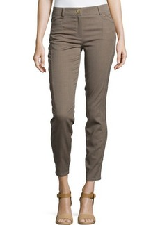 Escada Moderate-Rise Skinny Cropped Pants
