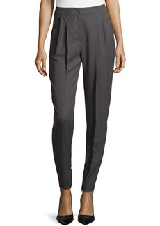 Escada Moderate-Rise Tapered-Leg Pants
