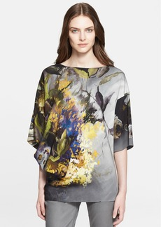 ESCADA 'Nenny' Bouquet Print Tunic