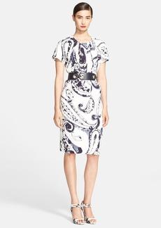 ESCADA Paisley Print Shift Dress