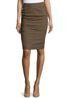 Escada Rendel Pencil Skirt, Camel