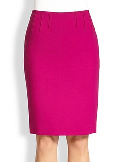 Escada Seam-Detail Pencil Skirt