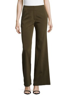 Escada Silk-Blend Wide-Leg Pants