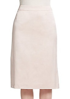 Escada Silk Faille Skirt