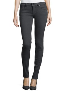 Escada Slim-Fit Low Rise Pants, Earl Gray