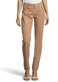 Escada Straight-Leg Jeans, Brown