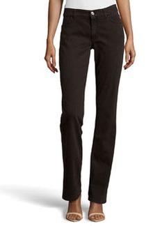 Escada Straight-Leg Jeans, Medium Brown