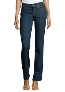 Escada Straight-Leg Jeans, Midnight