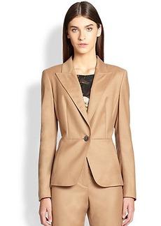 Escada Stretch Virgin Wool & Cashmere Jacket