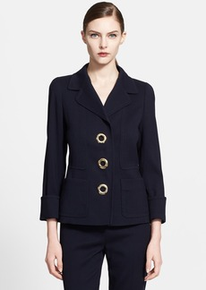 ESCADA Stretch Wool Jacket