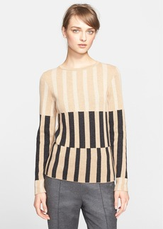 ESCADA Stripe Wool, Silk & Cashmere Sweater