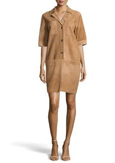 Escada Suede Shirtdress, Savannah