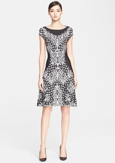 ESCADA 'Supo' Cap Sleeve Jersey Dress