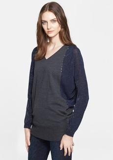 ESCADA 'Suspal' Sparkle Sleeve Sweater