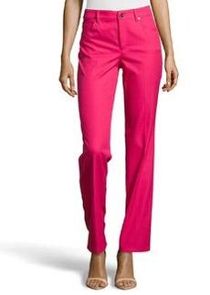 Escada Tessa Straight-Leg Jeans, Blossom