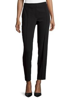 Escada Tuxedo-Style Straight-Leg Pants