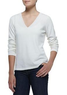 Escada V-Neck Pullover Cashmere Sweater