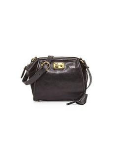 Etienne Aigner Epic Leather Shoulder Bag, Black