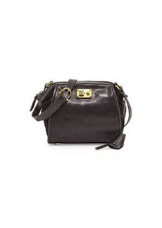 Etienne Aigner Epic Leather Shoulder Bag, Black