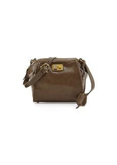 Etienne Aigner Epic Leather Shoulder Bag, Bottle Green