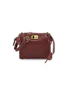 Etienne Aigner Epic Leather Shoulder Bag, Cordovan