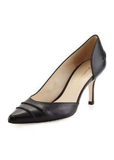 Etienne Aigner Lina Pointed-Toe d'Orsay Pump, Black