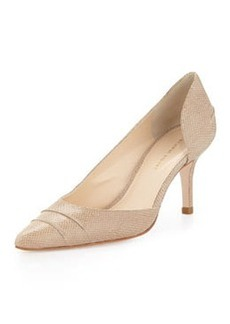 Etienne Aigner Lina Pointed-Toe d'Orsay Pump, Natural