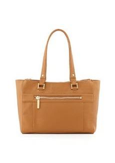 Etienne Aigner Locksmith Zip Tote Bag, Camel