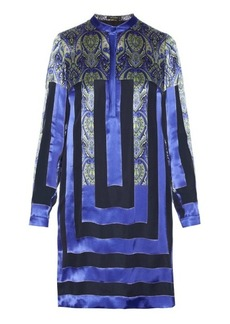 Etro Abstract paisley-print and striped dress