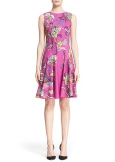 Etro Animal Print Cotton Dress