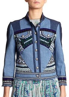 Etro Beaded Denim Jacket