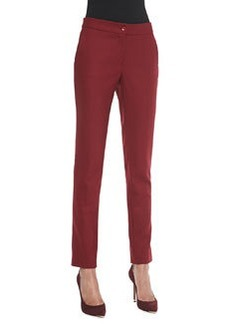 Etro Classic Ankle Pants, Red