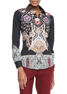 Etro Cotton Long-Sleeve Shirt