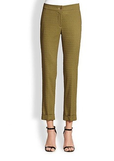 Etro Cravatte Cuffed Pants