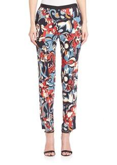 Etro Cubist Floral Pants
