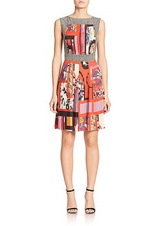 Etro Cubist Print Dress