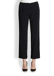 Etro Cuffed Wide-Leg Pants