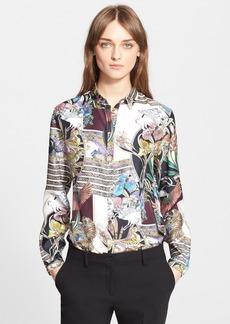 Etro Deco Print Silk Blouse