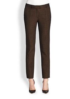 Etro Diamond Jacquard Pants