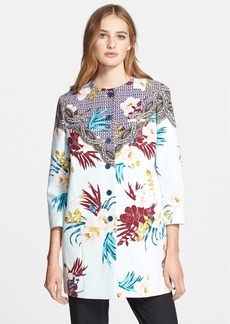 Etro Floral Geo Print Cotton Topper