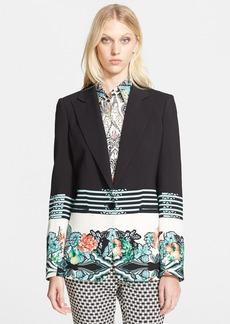 Etro Floral Print Cady Jacket