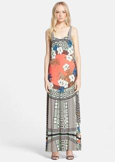 Etro Floral Print Tank Maxi Dress