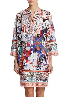 Etro Hawaiian Floral Cotton & Silk Tunic